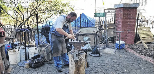 www.mtairynews.com: Two old-time skills on display
