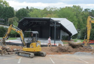 Work begins on arts center project
